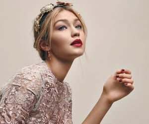 haute couture, gigi hadid, and lace image