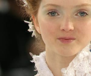 catwalk, haute couture, and Lily Cole image