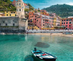 beach, italy, and water image