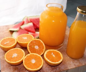 orange, fruit, and healthy image
