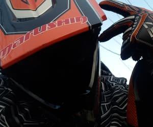 girl, moto, and motocross image