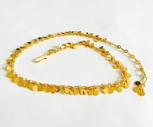 etsy, link necklace, and modernist image