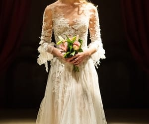 bridal, lace, and sylvie facon image