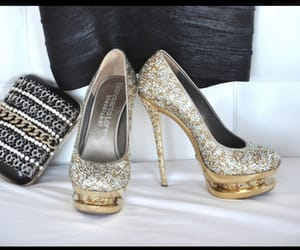 glitter and heels image