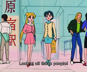anime, sailor mercury, and 90s anime image