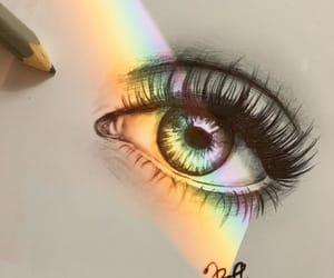 art, colour, and eye image