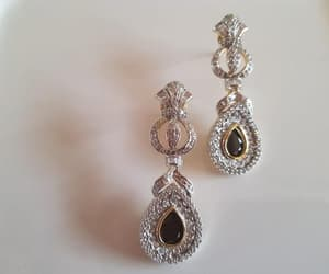 costume jewelry, etsy, and silver jewellery image