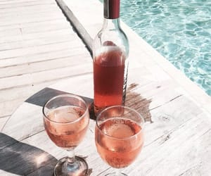 drink, summer, and luxury image