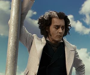 goth, gothic, and sweeney todd image
