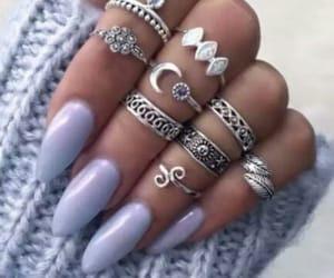 nails and lavander image