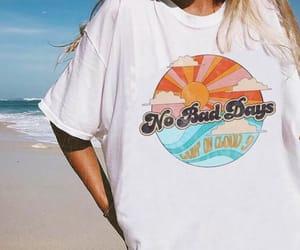 beach, summer, and no bad vibes image