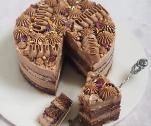 chocolate, delicioso, and tarta image