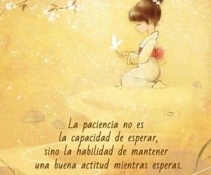 paciencia, vida, and frases español image