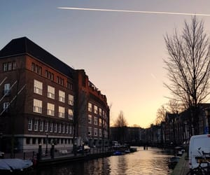 amsterdam, canal, and tourism image