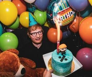 ed sheeran, birthday, and divide image
