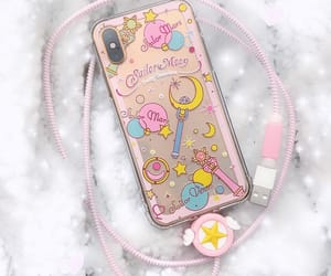 clear, pink, and sailor moon image