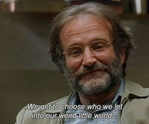 frase, robin williams, and pelicula image
