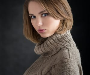 natural beauty, model, and portrait image