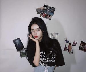 girl, uzzlang, and korean image