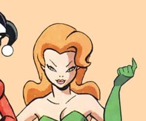 batman, harleen quinzel, and pamela isley image