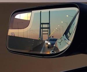 bridge, car, and cars image