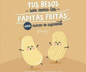 amor, Besos, and comida image