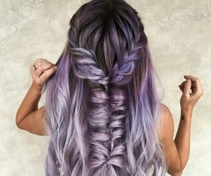 girl, hairstyle, and hairgoals image