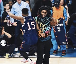 Basketball, jersey, and j.cole image