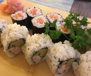 asian, fish, and food image