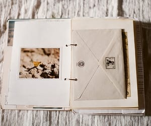 bullet, mail, and scrapbook image