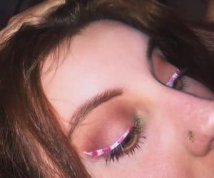 christmas, makeup, and noël image
