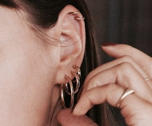 accessories, earings, and earrings image