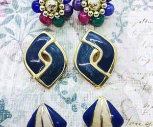 enamel earrings, vogueteam, and wearable image