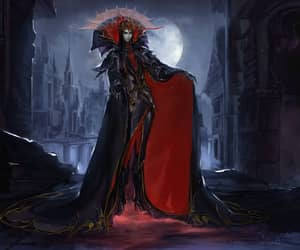 fantasy art, vampire prince, and dark prince image