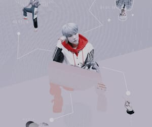 aesthetic, pastel, and suga image