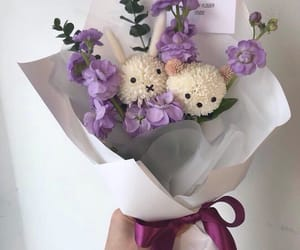 flowers, purple, and cute image