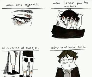:(, triste, and depresion image