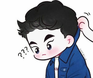 xiumin, minseok, and exo chibi image