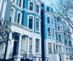 blue, london, and Notting Hill image