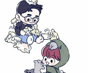 exo, baekhyun, and exo fanart image