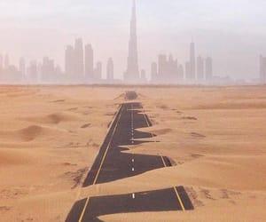 desert, futuristic, and nature image
