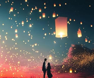 beautiful, indonesia, and lights image