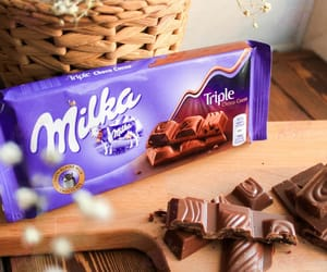 chocolate and milka image