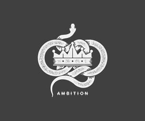 crown, slytherin, and ambition image