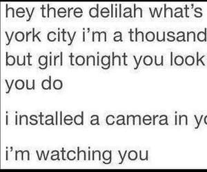meme, oh, and hey there delilah image