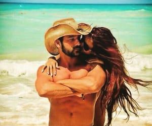 beard, couple, and beautiful image