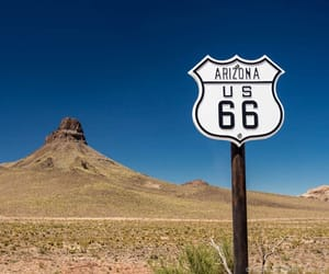 Road Trip and route 66 image