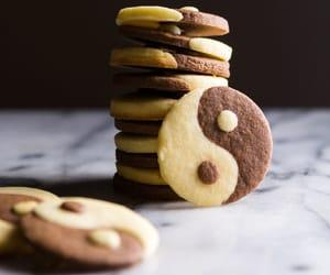 baking, recipe, and yin yang image
