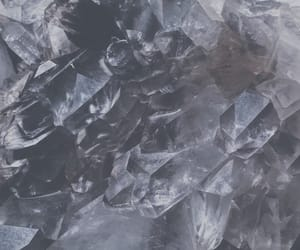 clear, crystals, and nature image