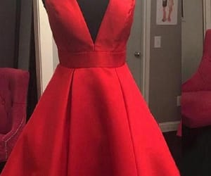 homecoming dress, homecoming dresses a-line, and homecoming dresses red image